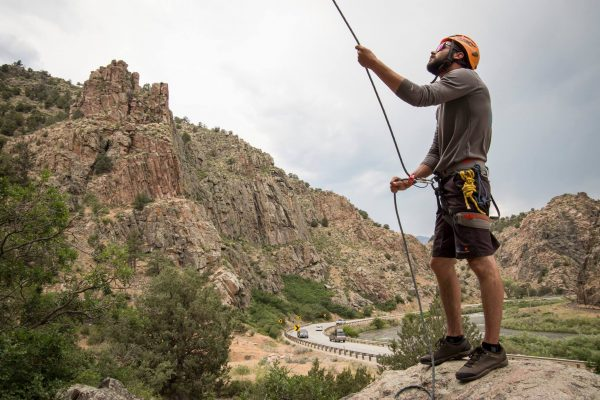 overnight royal gorge rock climbing