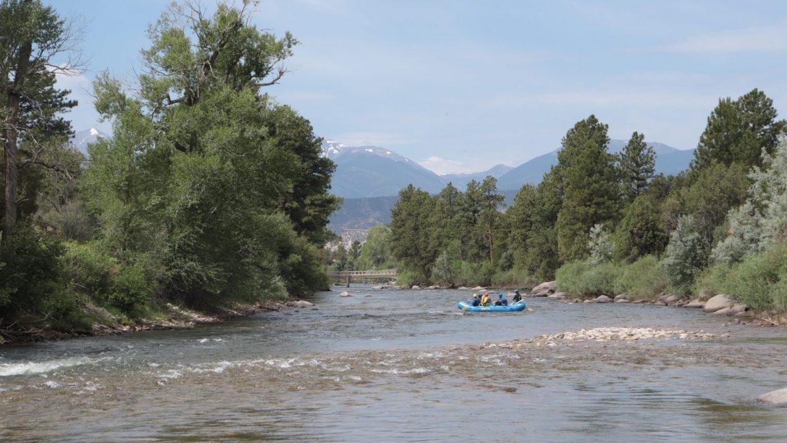 Salida Town Runs Rafting
