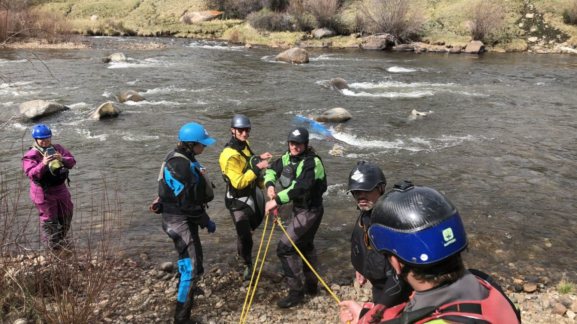Whitewater Certification Courses with RMOC