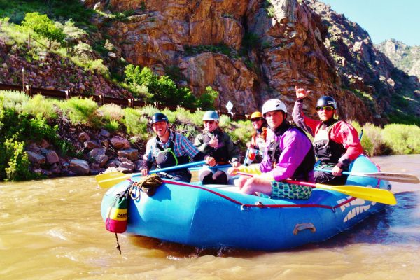royal gorge rafting overnight