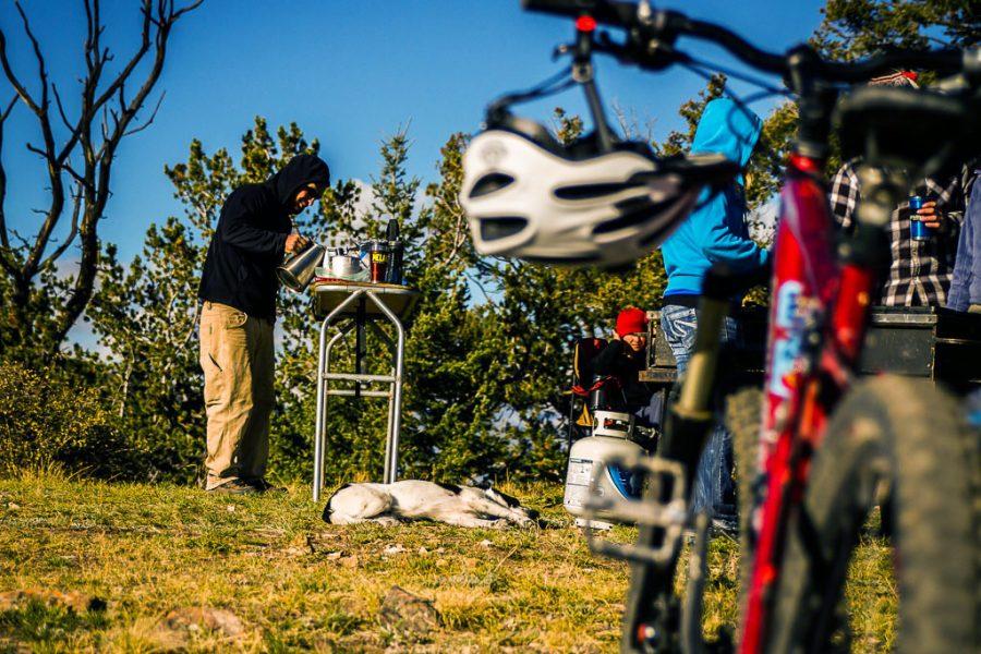 mountain biking overnight colorado
